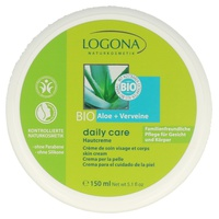 Crema Hidratante Aloe Bio Y Verbena Daily Care