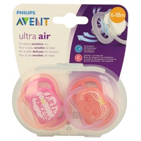 Philips Avent 2 Chupetes Ultra Air SCF343/22