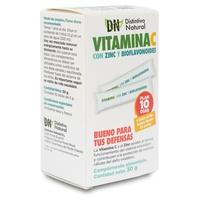 Vitamina C con zinc y bioflavonoides