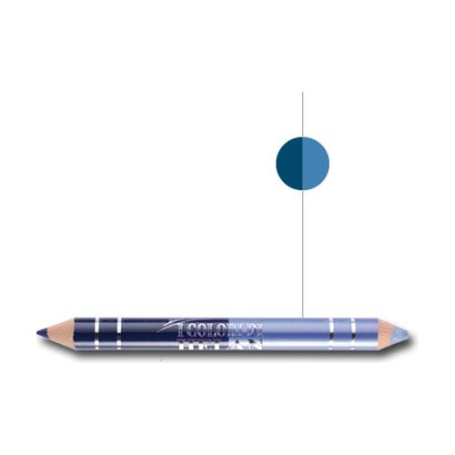 I colori Bio dúo de lápiz de ojos Azul noche