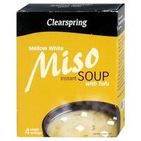 Sopa Miso y Tofu Suave