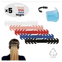 Pack 5 Save Ears for Adult Polyethylene Masks