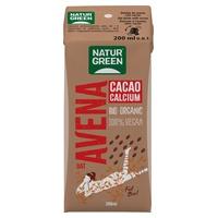 Boisson d'avoine au cacao et au calcium