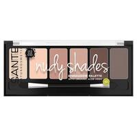 Eyeshadow palette 6 colors Nude 01