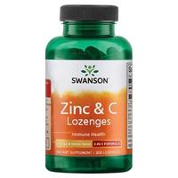 Zinc & C Lozenges Orange & Lemon Flavor