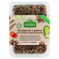 Ensalada 3 Quinoas con Verdura Manzana y Setas