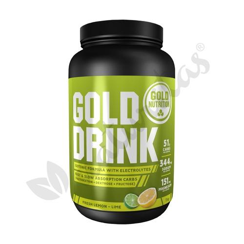 Gold Drink (Sabor Limón) 1 kg de Gold Nutrition