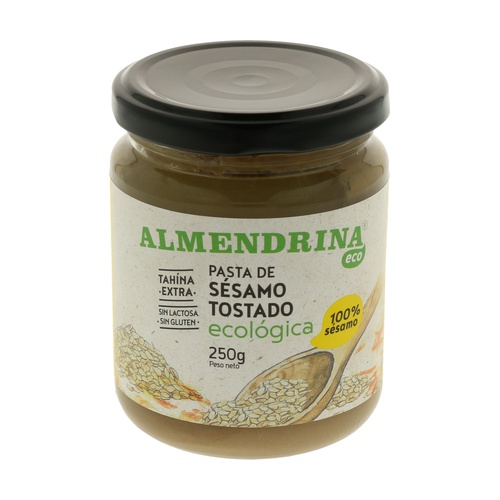 Pasta Tahin Eco Sésamo 100% 250 gr de Almendrina