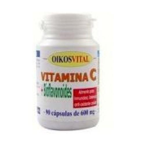 Vitamina C con Bioflavonoides 90 cápsulas de Oikos