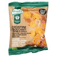 Crispy Turmeric and Onion Crustones Panito