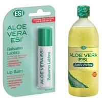 Aloe Vera Active Polpa + Stick Labbra