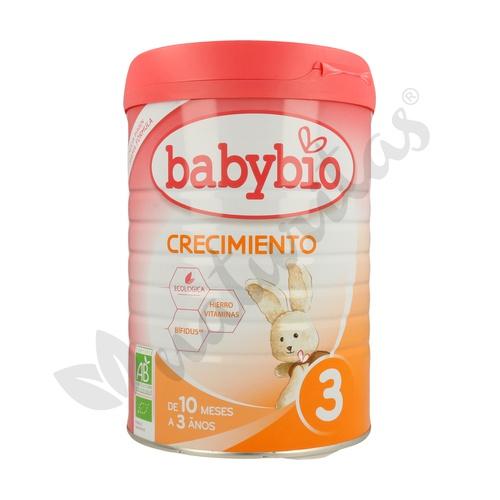 Leche Infantil 3 Crecimiento de 10 meses a 3 años 900 gr de Babybio