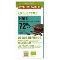 Chocolate Negro Bio 72%