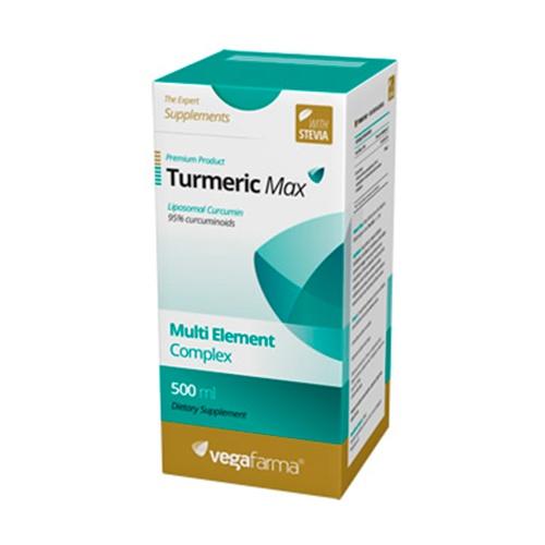 Turmeric Max 500 ml de Vegafarma