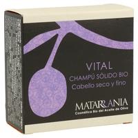 Champú Vital Sólido Bio para Cabello Seco y Fino