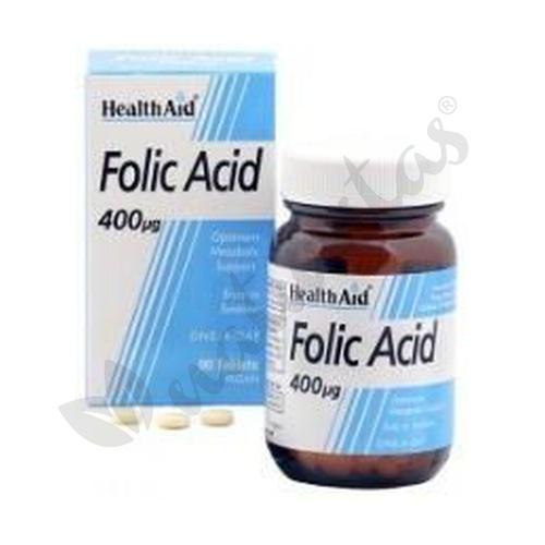 Ácido Fólico 90 comprimidos de Health Aid