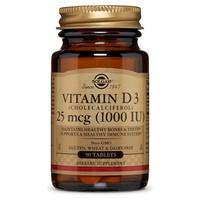 Vitamina D3 (colecalciferol) 1000 UI (25 µg)