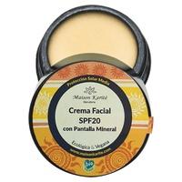 Crème visage SPF20 avec écran minéral