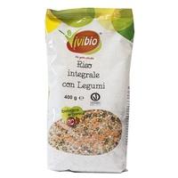 Riz brun aux légumineuses