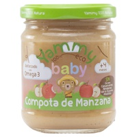 Compota de Manzana con Omega 3
