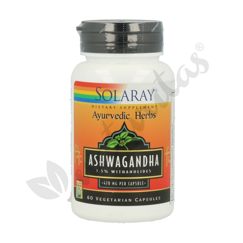 Ashwagandha 60 cápsulas de Solaray - Kal