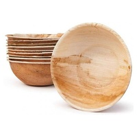 Round Bowl Palm Leaf