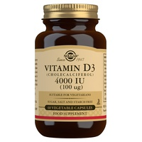 Vitamina D3 (colecalciferol) 4000 UI (100 µg)