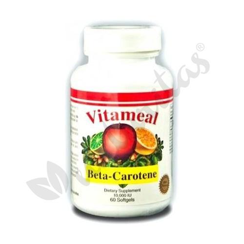 Betacarotene 10.000Ui 60 cápsulas de Vitameal