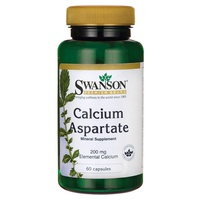 Aspartato de cálcio, 200 mg de cálcio elementar