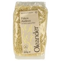 Cabelo de anjo de massa andina de arroz e quinoa real