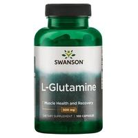 L-glutamina, 500 mg