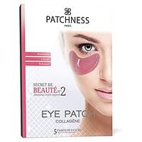 Różowa opaska na oko z kolagenem