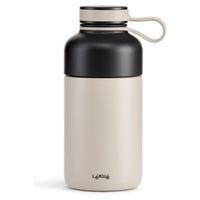 Isothermal Bottle To Go Gray
