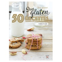 """Libro de Recetas """"Sans gluten : 50 recettes saines et gourmandes, sucrées et salées"""" de Rabia Combet"""