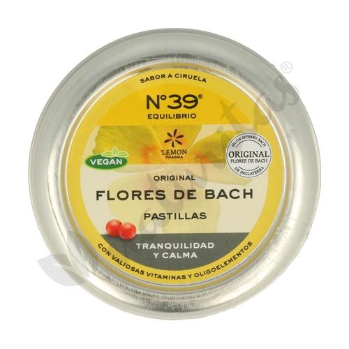 Pastillas Flores De Bach Sos Ansiedad 35 Pastillas de Lemon Pharma