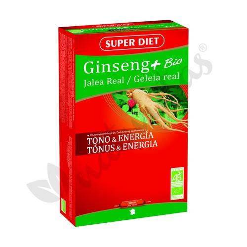 Ginseng Jalea Real Bio 20 ampollas de 15 ml de Super Diet