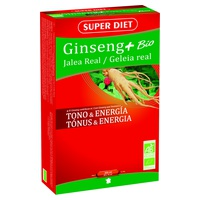 Ginseng Jalea Real Bio 20 ampollas de 15 ml de Super Diet