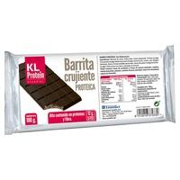 Chrupiąca czekoladowa przekąska białkowa