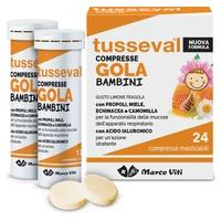 Tusseval Tablets Throat Children