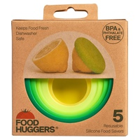 Set 5 couvercles silicones Fresh Greens