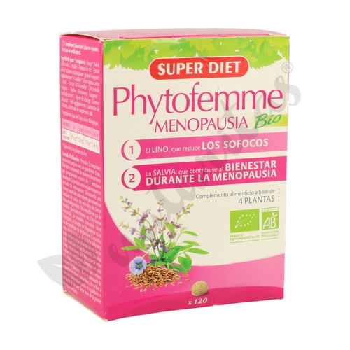 Phytofemme Madurez Agbio 60 cápsulas de 40 mg de Super Diet