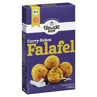 Vorbereitet für Falafel Coconut und Curry