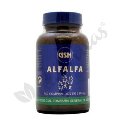 Alfalfa 150 comprimidos de 350 mg de Gsn