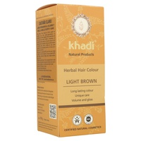 Tinte vegetal (herbal color) castaño claro 100 g de KHADI