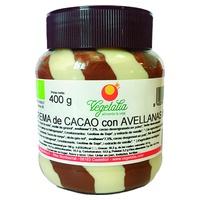 Chocolate and Hazelnut Organic Cream Duo
