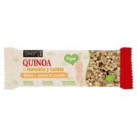 Sikenform Vegasnack Quinoa y manzana Bio