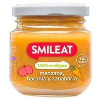 Pote de maçã, laranja e cenoura Eco