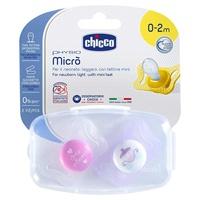 Chupeta de silicone Physio Micrò Girl 0-2m