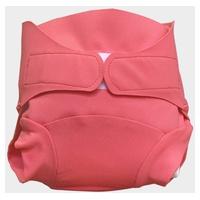 Washable diaper - Pink Shrimp model - Size S (4-8 kg)