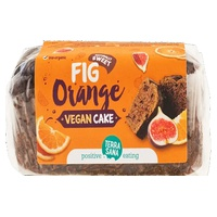 Gâteau végétalien aux figues et à l'orange
